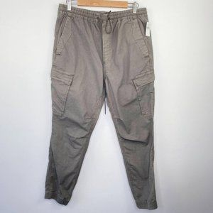 Gap Khaki Dark Grey Brown Utility Joggers M